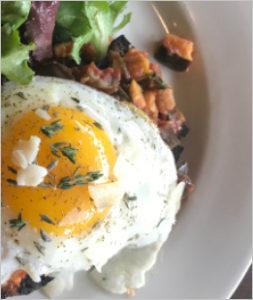 Eggs at Sweet Melissa Patisserie