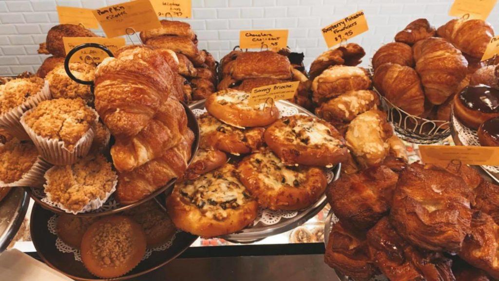 Pastries at Sweet Melissa Patisserie